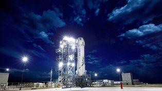 La fusée New Shepard de Blue Origin, en avril 2018. (BLUE ORIGIN / AFP)