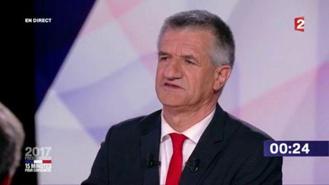 """Présidentielle : revivez le passage de Jean Lassalle dans """"15 minutes pour convaincre"""" sur France 2"""