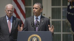 Le président américain Barack Obama, lors de son allocution à la Maison Blanche, à Washington, mercredi 1er juillet 2015. (BRENDAN SMIALOWSKI / AFP)