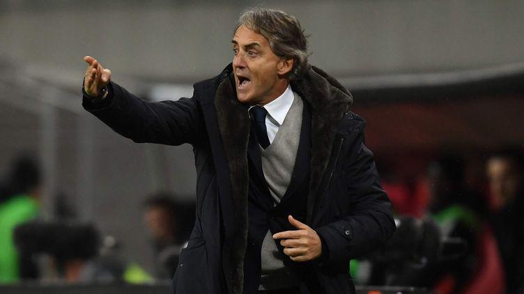 Le technicien italien Roberto Mancini (HENDRIK SCHMIDT / DPA-ZENTRALBILD)