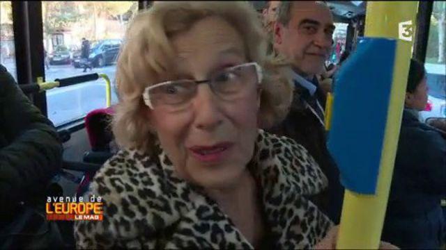 Manuela Carmena, une grand-mère rebelle à la mairie de Madrid