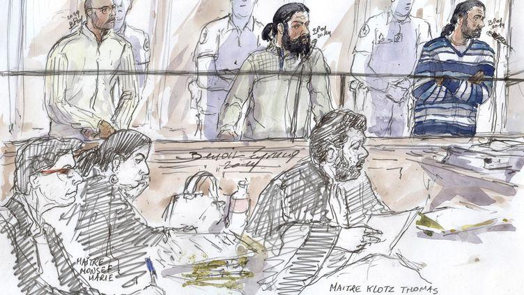 Mohamed el Hafiani, 36 ans, avait été condamné en 2014 à cinq années de prison pour avoir voulu rejoindre des jihadistes en Afghanistan. (BENOIT PEYRUCQ / AFP)