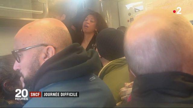 Grève SNCF : deuxième journée difficile pour les usagers