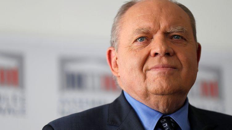 René Dosière, ancien député PS de l'Aisne et président de l'Observatoire de l'éthique publique. (THOMAS SAMSON / AFP)