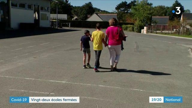 Covid-19 : plusieurs écoles fermées aux quatre coins de la France