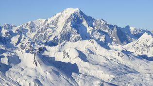 Le mont Blanc, en février 2015. (BOISVIEUX CHRISTOPHE / HEMIS.FR / AFP)