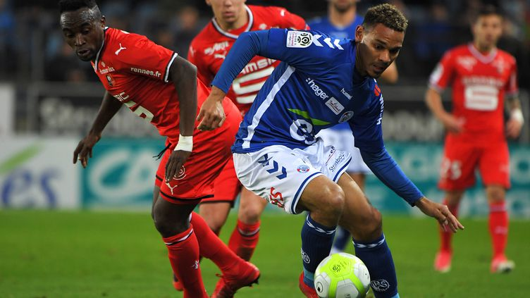 Strasbourg a fait chuter Rennes