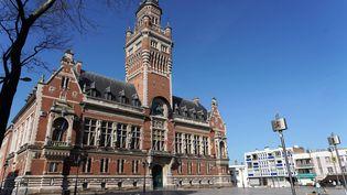 La mairie de Dunkerque (Nord), le 27 février 2021. (SYLVAIN LEFEVRE / HANS LUCAS / AFP)