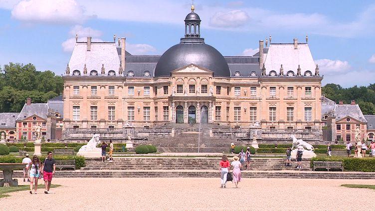 Le château de Vaux-le-Vicomte en Seine-et-Marne accueille le public dans son parc de 400 hectares (FRANCE 3 Paris Ile de France)