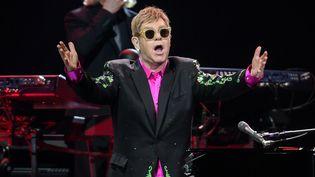 Elton John au Starlite Music Festival de Marbella, en Espagne, le 20 juillet 2017.  (AXEL HEIMKEN / DPA)