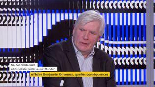"""Michel Noblecourt : """"C'est un coup dur pour le chef de l'Etat qui les collectionne sur les élections municipales."""" (FRANCEINFO)"""