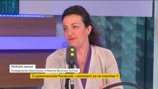Nathalie Janson, enseignante chercheuse à Neoma Business School, invitée de franceinfo le samedi 15 juin. (FRANCEINFO / RADIOFRANCE)