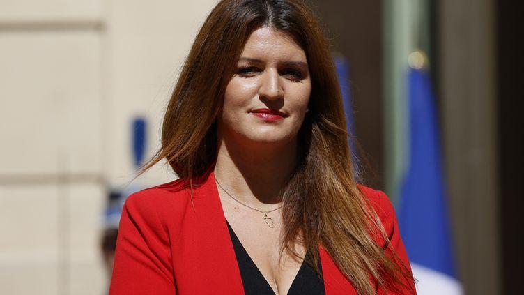 La ministre déléguée à la Citoyenneté, lors de la passation de pouvoir au ministère de l'Intérieur à Paris, le 7 juillet 2020, après un remaniement. (THOMAS SAMSON / AFP)