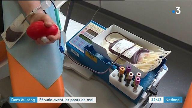 Don du sang : l'EFS tire la sonnette d'alarme
