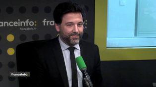 Hugues Renson, député LREM de Paris et vice-président de l'Assemblée nationale, le 17 mai 2018. (RADIO FRANCE / FRANCEINFO)