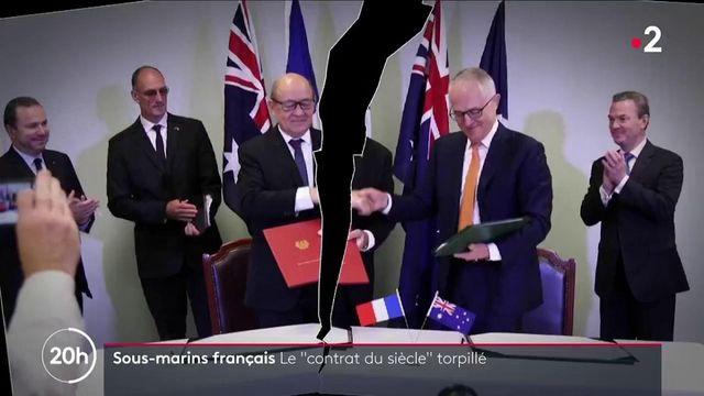 """Diplomatie : le """"contrat du siècle"""" des sous-marins français torpillé"""