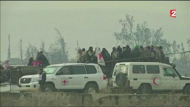 Alep : l'opération d'évacuation des civils suspendue