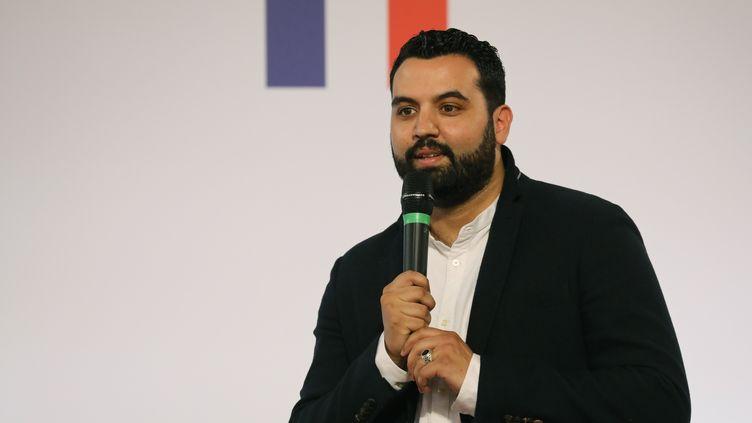 Yassine Belattar, le 22 mai 2018. (LUDOVIC MARIN / POOL / AFP POOL)