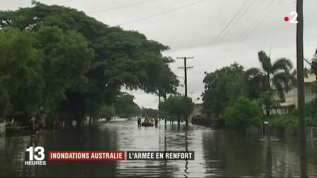 Inondations en Australie : l'armée intervient au secours des sinistrés