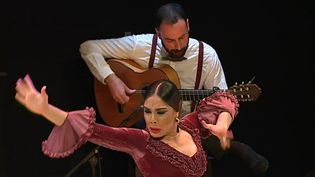 Alba Heredia et Luis Mariano Renedo  (France 3 / Culturebox)