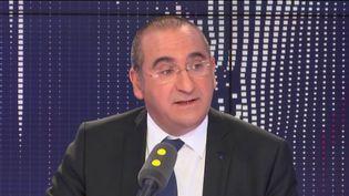 LaurentNuñez, coordonnateur national du renseignement et de la lutte contre le terrorisme sur franceinfo. (RADIO FRANCE / FRANCEINFO)