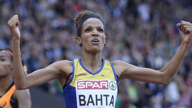 Meraf Bahta a résisté au retour de Sifan Hassan (FRANCK FIFE / AFP)