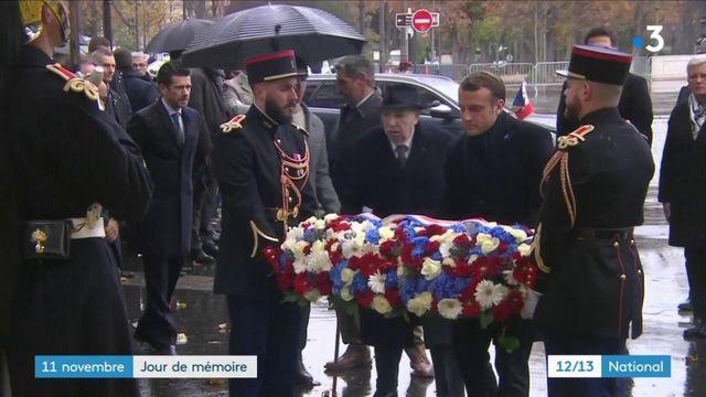 11 novembre : Emmanuel Macron rend hommage aux soldats tombés pendant la Grande Guerre