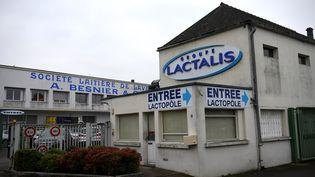 Le quartier général de Lactalis à Laval (Mayenne), le 12 janvier 2018. (DAMIEN MEYER / AFP)