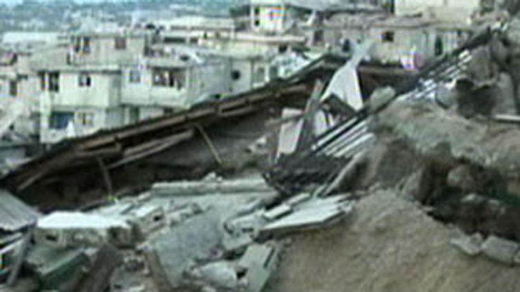 Après le séisme qui a frappé Haïti (13/01/2010)