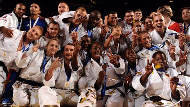 Conclusion en apothéose pour les judokas tricolores à Bercy