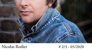 "Nicolas Rodier, romancier, auteur de ""Sale bourge"", Flammarion, août 2020 (Astrid Di Crollanzana / Flammarion)"