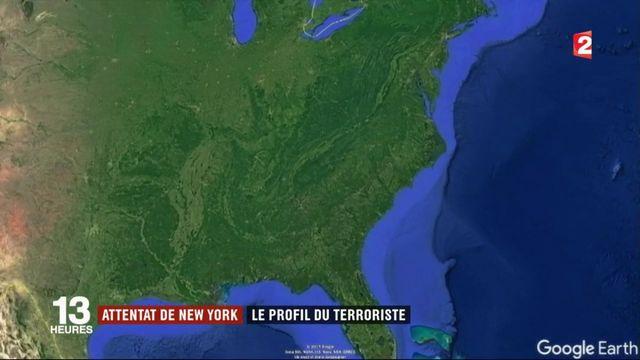 Attentat de New York : ce que l'on sait du suspect