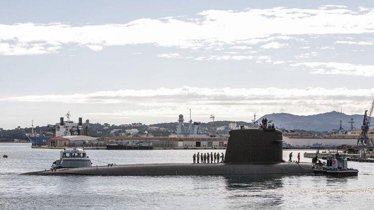 L'Australie a mis un terme au plus gros contrat d'achat de sous-marins passé avec la France, le 15 septembre 2021. (JOSE NICOLAS / HANS LUCAS)