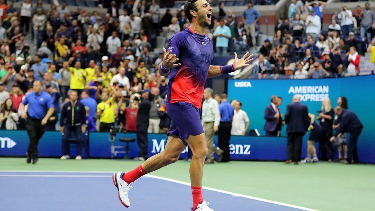 Robert Farah à l'US Open à New York aux États-Unis en septembre 2019. (ELSA / GETTY IMAGES NORTH AMERICA)