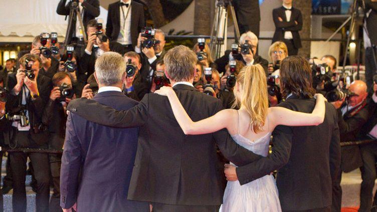 Acteurs, réalisateurs, sous le feu des flashes des photographes à Cannes (21 mai 2016)  (Mandoga Media / Sipany / Sipa)
