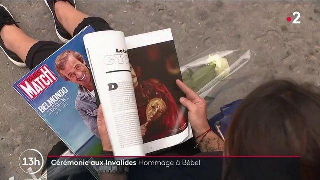 Cérémonie : un dernier hommage rendu à Jean-Paul Belmondo aux Invalides