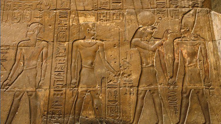 A Louxor (Egypte). La civilisation de l'Egypte antique a duré plus de 3000 ans, entre -3150 et -31 avant Jésus-Christ. (BILDAGENTUR RM / TIPS / PHOTONONSTOP)