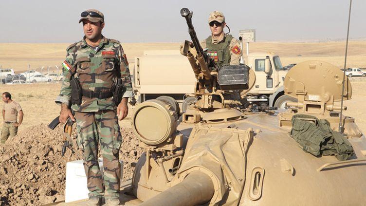 (Les peshmergas kurdes vont recevoir des armes françaises@ REUTERS)