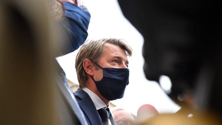 François Baroin le 30 septembre 2020. (ALAIN JOCARD / AFP)