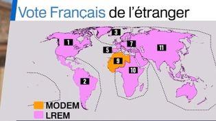 Législatives : premiers votes des Français à l'étranger (FRANCE 3)