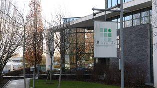 La laboratoire Biotrial à Rennes (Ile-et-Vilaine), le 15 janvier 2016. (MAXPPP)
