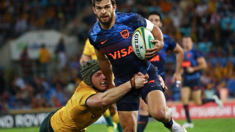 L'Argentine contre l'Australie (PATRICK HAMILTON / AFP)