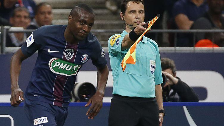 Le joueur du PSG, Blaise Matuidi (THOMAS SAMSON / AFP)