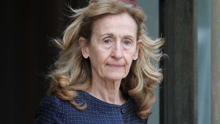 Nicole Belloubet, la ministre de la Justice, le 11 décembre 2019. (LUDOVIC MARIN / AFP)