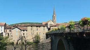 La commune de Saint-Antonin-Noble-Val (Tarn-et-Garonne). (FRANCE 3)