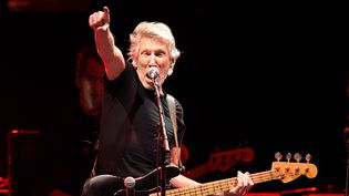 Roger Waters au Desert Trip Festival à Indio (Californie) le 16 octobre 2016.  (Kevin Winter / Getty Images / AFP)