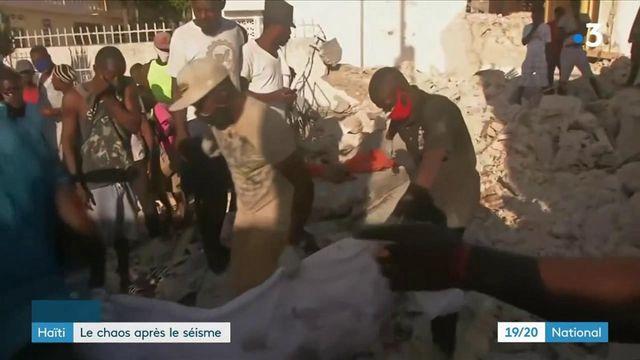 Haïti : Avec 1300 morts, le bilan du séisme ne cesse de s'alourdir