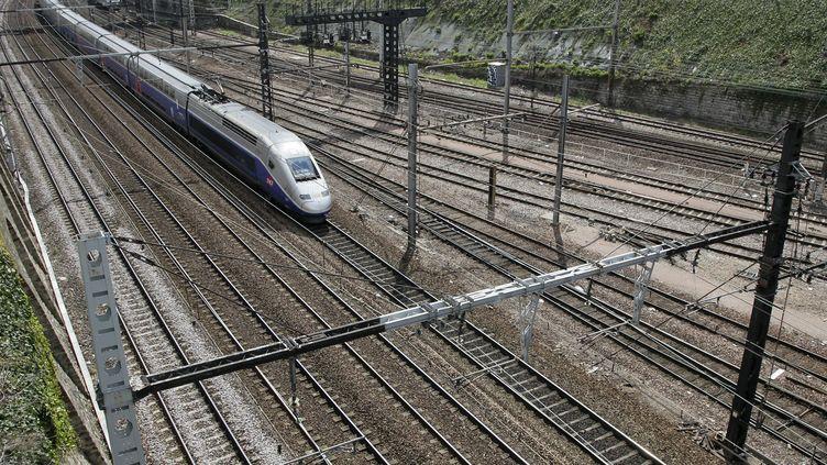 Un TGV, illustration. (VINCENT ISORE / MAXPPP)