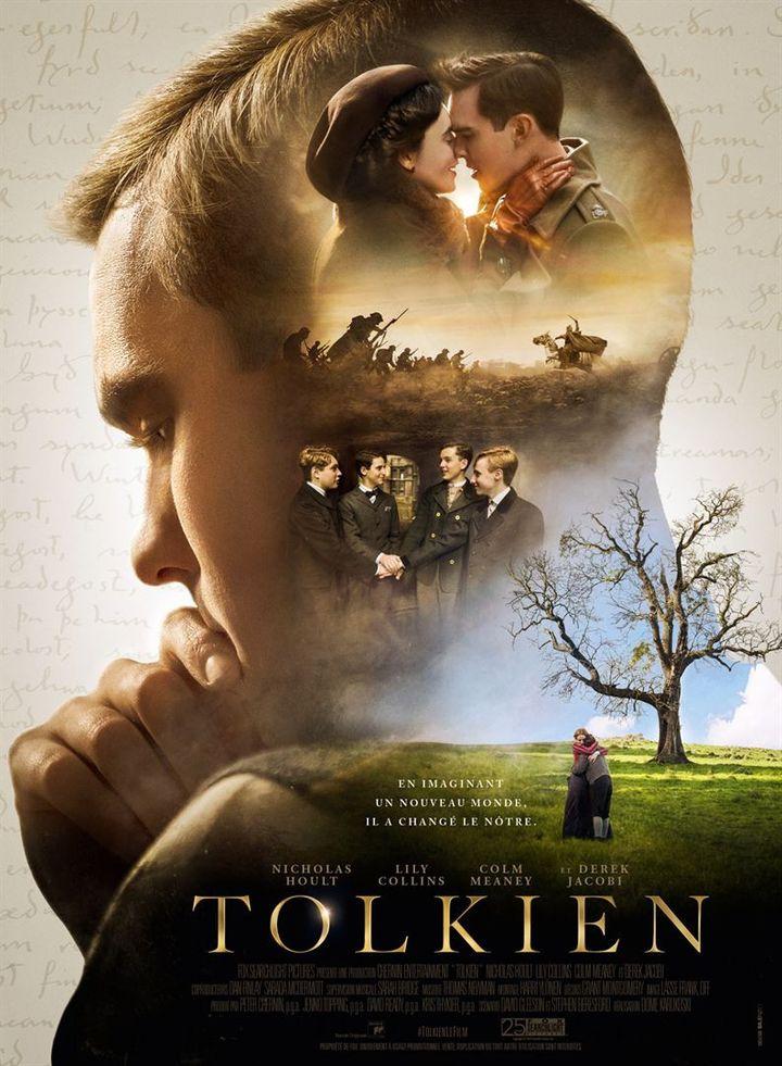 """L'affiche du film """"Tolkien"""" deDome Karukoski (Twentieth Century Fox France)"""