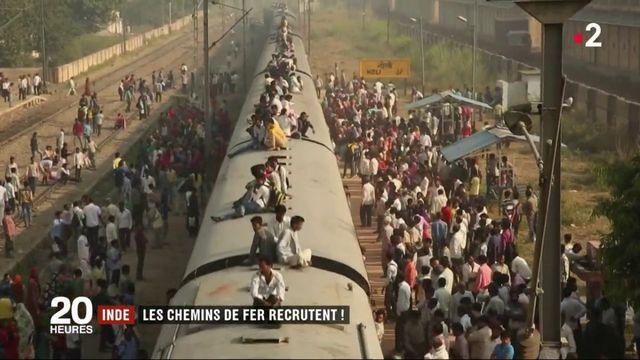 Inde : les chemins de fer recrutent